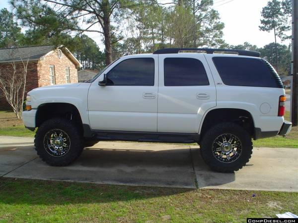 WTT Lifted Z71 Tahoe with 3200 Watt stereo for nice Mach Archive